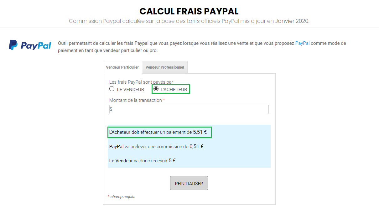 Photo exemple Garantie Paypal